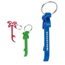 Custom Palm Tree Bottle Opener Key Ring, 1 1/4