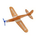 Custom Penny Paper Airplane Jigsaw Puzzle, 7 1/4