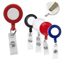 Custom Retractable Badge Holder With Clip, 1 3/8