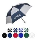 Custom Oversized Golf Umbrella w/ Rubberized Handle (64
