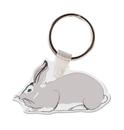Custom Rabbit Animal Key Tag