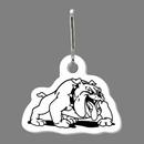 Custom Dog (Bulldog) Zip Up
