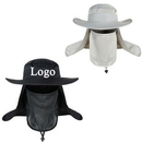Custom Outdoor Fishing Quick-drying Hat with Removable Sun Shield, 22