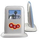Custom Digital Desktop Photo Frame W/ Alarm Clock, 5 1/4