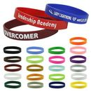 Custom Silicone Wristband - 1/2