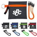 Custom G Line Techie Type C USB Cable Set, 4