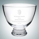 Custom Footed Glass Bowl (M), 8 1/2
