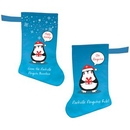 Custom Christmas Stocking - Double Sided Print, 14.25