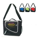 Custom Polyester On the Go Messenger Bag, 13.5