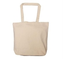 Custom Large Cotton Canvas Tote, 18