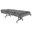 Custom Zebra Print Table Cover, 54
