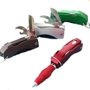 Custom Multi-Function Foldable Pen/Flashlight, 2.8