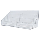 Custom 6 Pocket Horizontal Business Card Holder (3 1/2