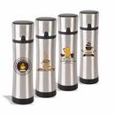16 oz. Stainless Steel Vacuum Flask, Personalised Flask, Custom Logo Flask, Printed Flask, 10.25