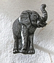 Custom Series 3000S Elephant MasterCast Design Cast Lapel Pin