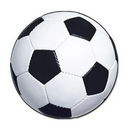 Custom Soccer Ball Cutout, 13 1/2