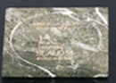 Custom Green Genuine Marble Square Coaster (3.75