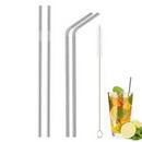 Custom Stainless Steel Straws, 10.5