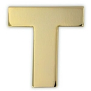 Custom Gold T Pin, 3/4