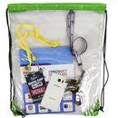 Custom See Through Drawstring Bag, 15