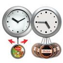 Custom Pendulum Wall Clock, 8 1/2