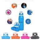 Custom 35OZ Silicone Foldable Water Bottle, 11 2/10