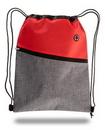 Custom Two-Tone Drawstring Cinch Bag, 13
