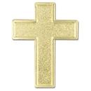 Custom Cross Lapel Pin, 3/4