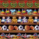 Custom Santa's Workshop Backdrop
