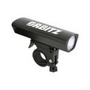 Custom 3-Watt LED Aluminum Bike Light with Quick Release Mount, 4 1/4