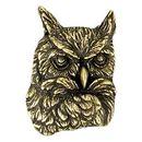 Blank Owl Mascot Fully Modeled 3 Dimensional Pin