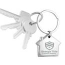 Custom Home Sweet Home Metal Key Holder, 2 3/4