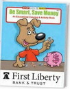 Custom Be Smart, Save Money Coloring Book, 8