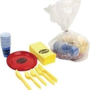 Custom Paper Set Packaged In Disposable Bag - Tailgater Set - The 500 Line