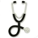 Blank  Stethoscope Pin, 1 1/2
