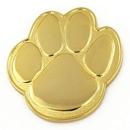 Custom Paw Pin - Gold, 1