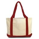 Custom Classic 11 Oz. 100 percent Cotton Boat Tote Bag, 19
