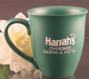 Custom 15 Oz. Carved Ceramic Green Sugo Mug, 4 1/2