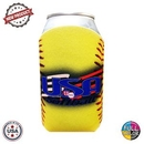Custom Premium Full Color Dye Sublimation Collapsible Foam Softball Coolie, 1/8