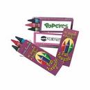 Custom Jumbo Size Crayons 3 Pack, 4