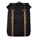 Custom Flap Drawstring Backpack, 11 3/4