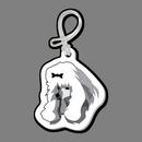 Custom Dog (Poodle, Head) Bag Tag