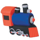 Custom Small Train Squeezies Stress Reliever, 3.5