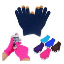 Custom Touch Screen Knit Gloves, 7.5