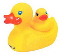 Custom Big Rubber Duck w/ Duckling (2 Piece Set), 4