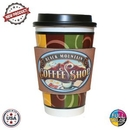 Custom Premium Full Color Dye Sublimation Collapsible Foam Coffee Wrap Insulator