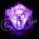Blank Black Purple Lited LED Ice Cubes