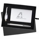 Custom The Sybil Power Bank & Stylus Pen Gift Set, 6.875