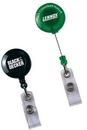 Custom Round Secure-a-Badge Retractable Badge Reel