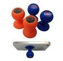 Custom Epoxy Silicone Suction Phone Stand, 1 1/2